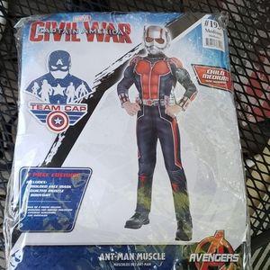 NIP Civil War Ant-Man Muscle Costume 8 - 10